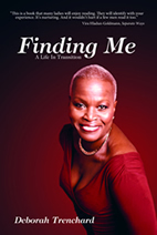 Finding Me a life in transition - book front cover